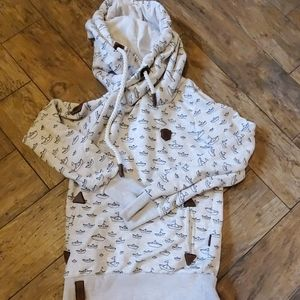 Naketano Women's hoodie size small